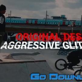 Videohive Aggressive Glitch Titles 32076326 Free Download