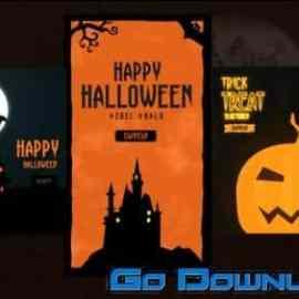 Videohive Halloween Instagram Stories 33683017 Free Download