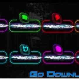 Videohive Neon Social Media Lowerthirds 33670127 Free Download