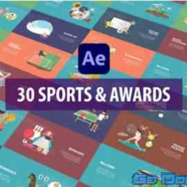 Videohive Sport And Awards Animation After Effects 33754744 Free Download