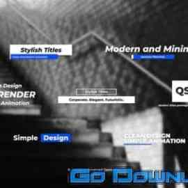 Videohive Stylish And Minimal Titles Pack For Davinci Resolve 33660014 Free Download