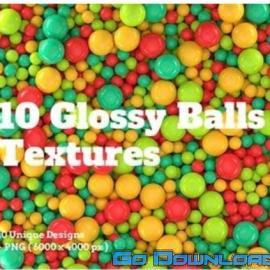 104 Glossy Balls Textures Free Download
