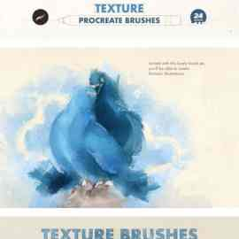 CreativeMarket Texture Procreate Brushes 6505375 Free Download