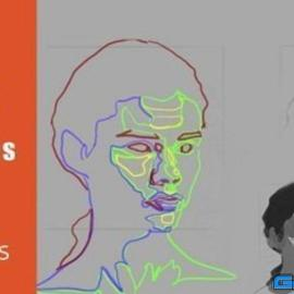 Easy Way To Draw The Face Using Shapes For Beginners
