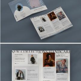 Fashion Bifold Brochure Free Download