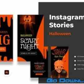 Halloween Instagram Stories Free Download