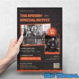 Halloween Promo Flyer Template Free Download