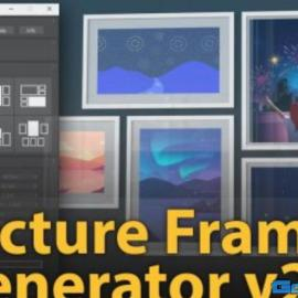 Picture Frame Generator v2.0 For 3ds Max Free Download