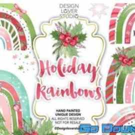 REY Holiday Rainbow design Free Download