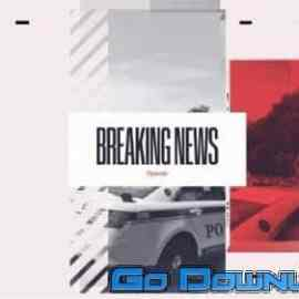 Videohive Breaking News Intro 34041304 Free Download