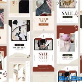 Videohive End Of Season Summer Sale Instagram Stories 34328815 Free Download