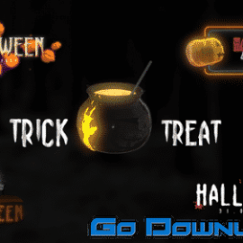 Videohive Halloween Scary Titles 34094338 Free Download