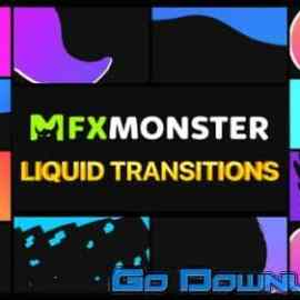 Videohive Liquid Transitions Fcpx 34127939 Free Download