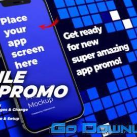 Videohive Mobile App Promo App Presentation App Demo Showcase Premiere Pro 34095645 Free Download