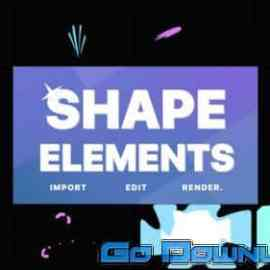 Videohive Shapes Elements Fcpx 34130604 Free Download