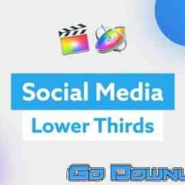 Videohive Social Media Lower Thirds For Fcp X 34083810 Free Download