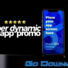 Videohive Super Dynamic App Promo Phone 13 Android App Demo Video Premiere Pro 33877660 Free Download