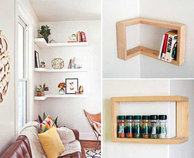 Storage And Shelving In The Living Room