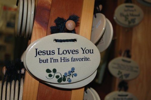 Jesus did not love everybody the same