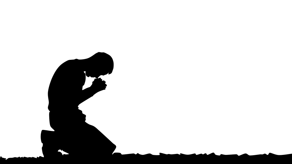 praying man silhoutte by waldryano bia pixabay - no attribution required