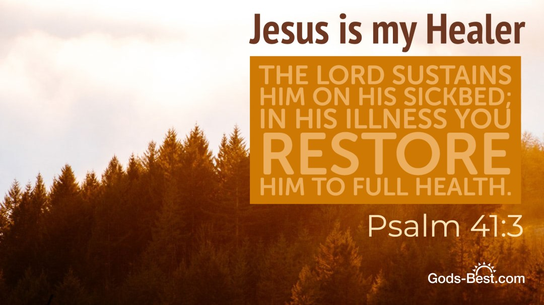 Jesus Is My Healer Desktop Wallpaper