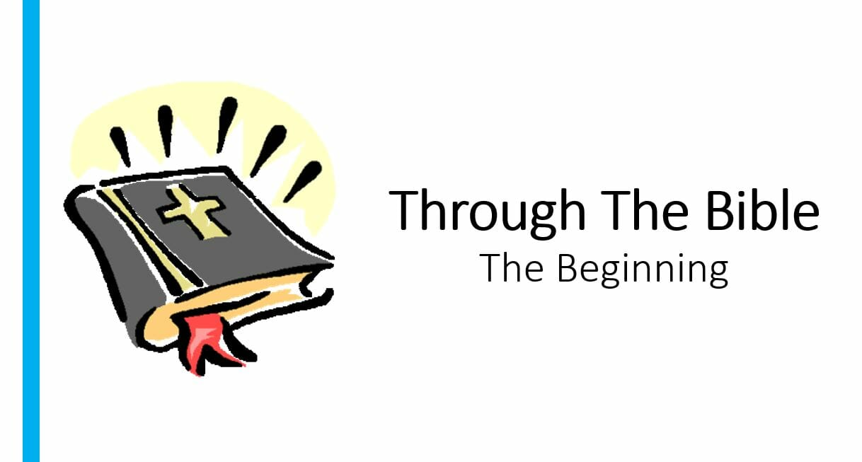 Through The Bible (The Beginning) Series