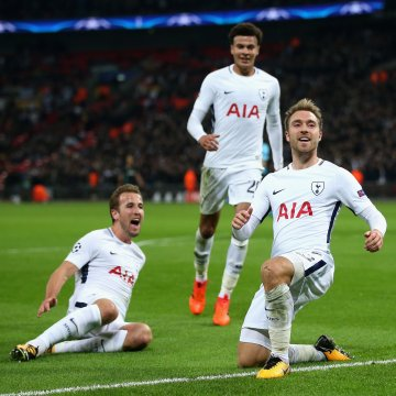 Harry Kane, Dele Alli, Christian Eriksen