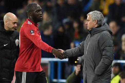 Mourinho et le Sergent Lukaku. (Source : AFP)
