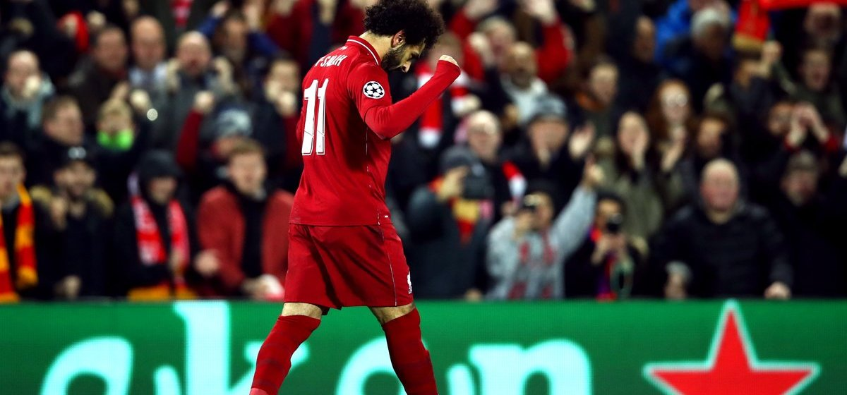 Mo Salah, regard bas mais vise haut. (Photo : @ChampionsLeague)