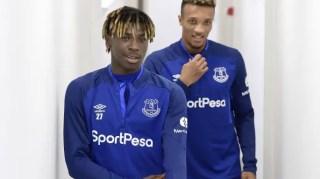 """Moise Kean et Jean-Philippe Gbamin font partie de la carte """"jeune"""" déployée par les Toffees (Crédits : TheTimes)."""
