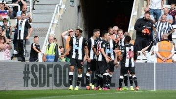 Triste fête. (Photo : Twitter Newcastle United)