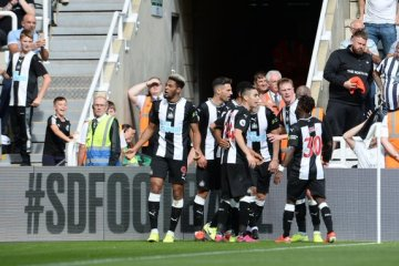 Triste fête. (Photo : Twitter Newcastle United)