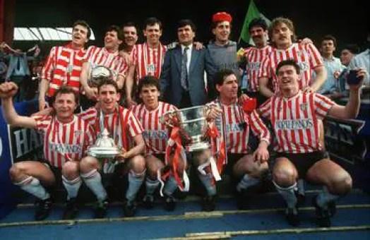 Victoire de la Coupe d'Irlande en 1989
