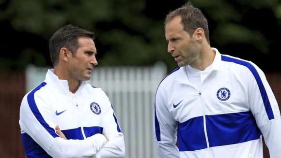 Frank Lampard et Petr Cech, le duo à l'origine de la reconstruction.