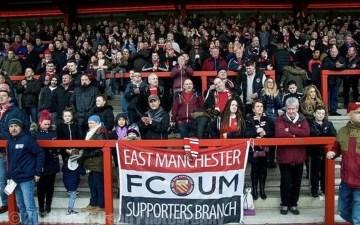 Le FC United of Manchester, un club à part dans le football business anglais de 2020 (Crédits Photo : thenationalleague.org.uk)