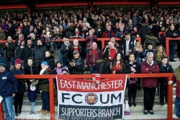 Le FC United of Manchester, un club à part dans le football business anglais de 2020 (Crédits Photo : thenationalleague.org.uk)