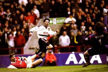 Ryan Giggs goal 1999