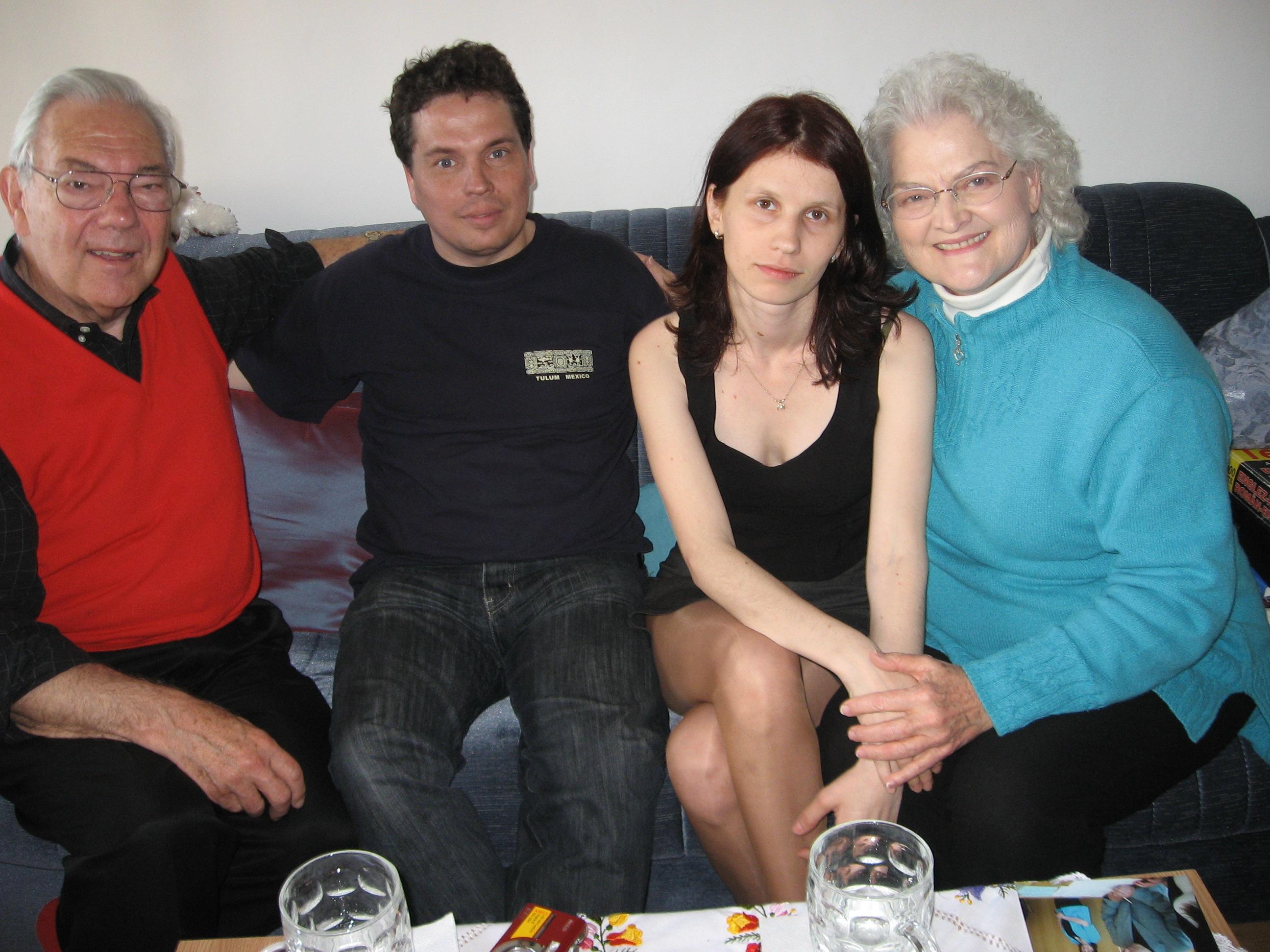 Bogi & Torsten with Dan & Anne