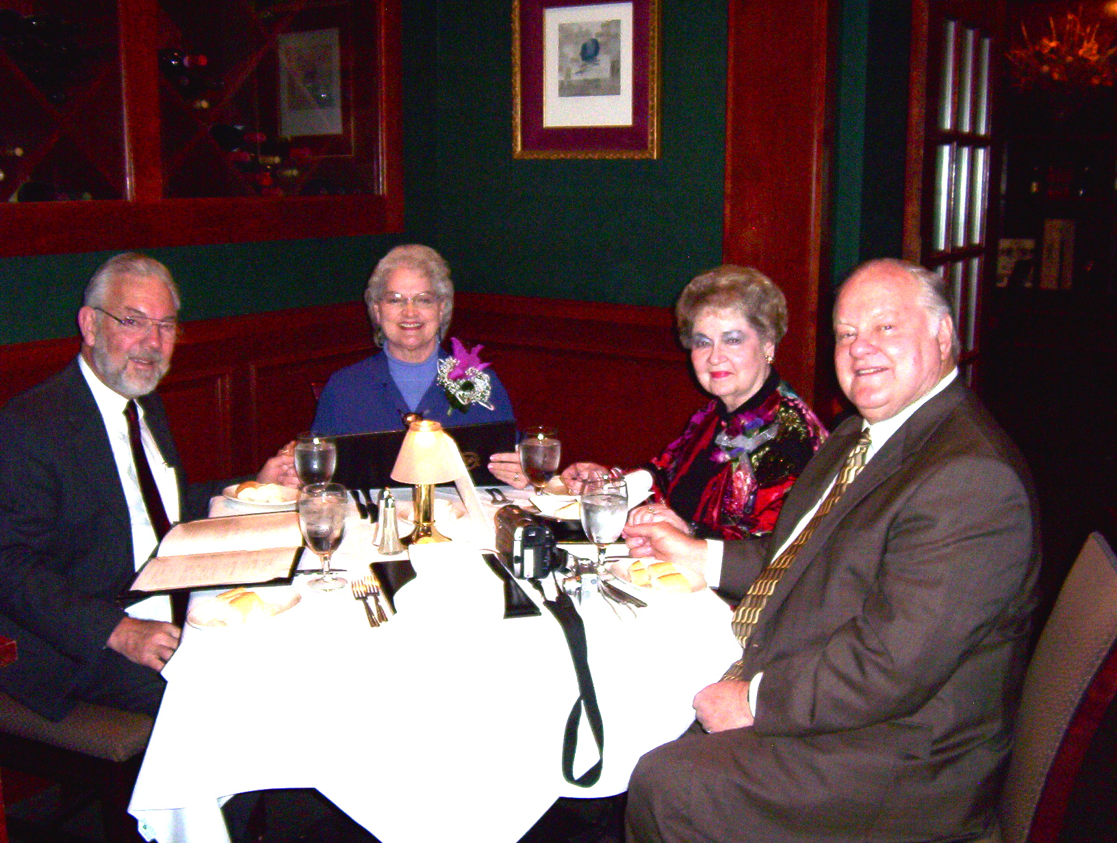 Dear Friends, Supporters - Don and Joann Hall with Dan and Anne.