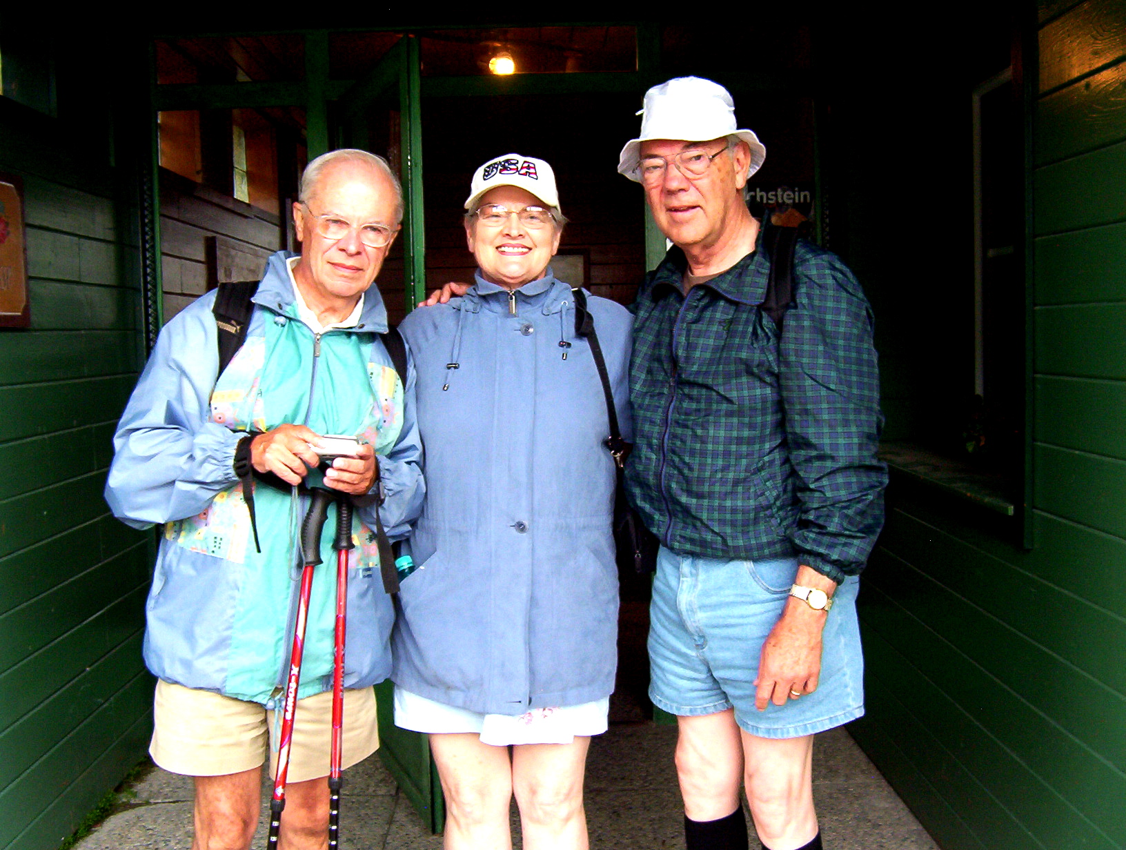Dick & Dan talked while hiking in the Austrian Alps