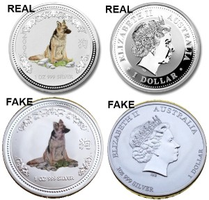 Series 1 Lunar Dog Real vs Fake Comparison