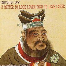 Confucius Lose Lover
