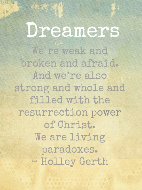 Living Paradoxes by Holley Gerth