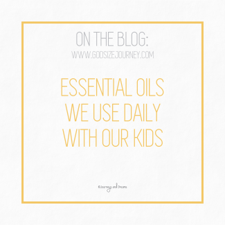 Essential Oils - Essential Oils We Use With Our Kids Daily 5