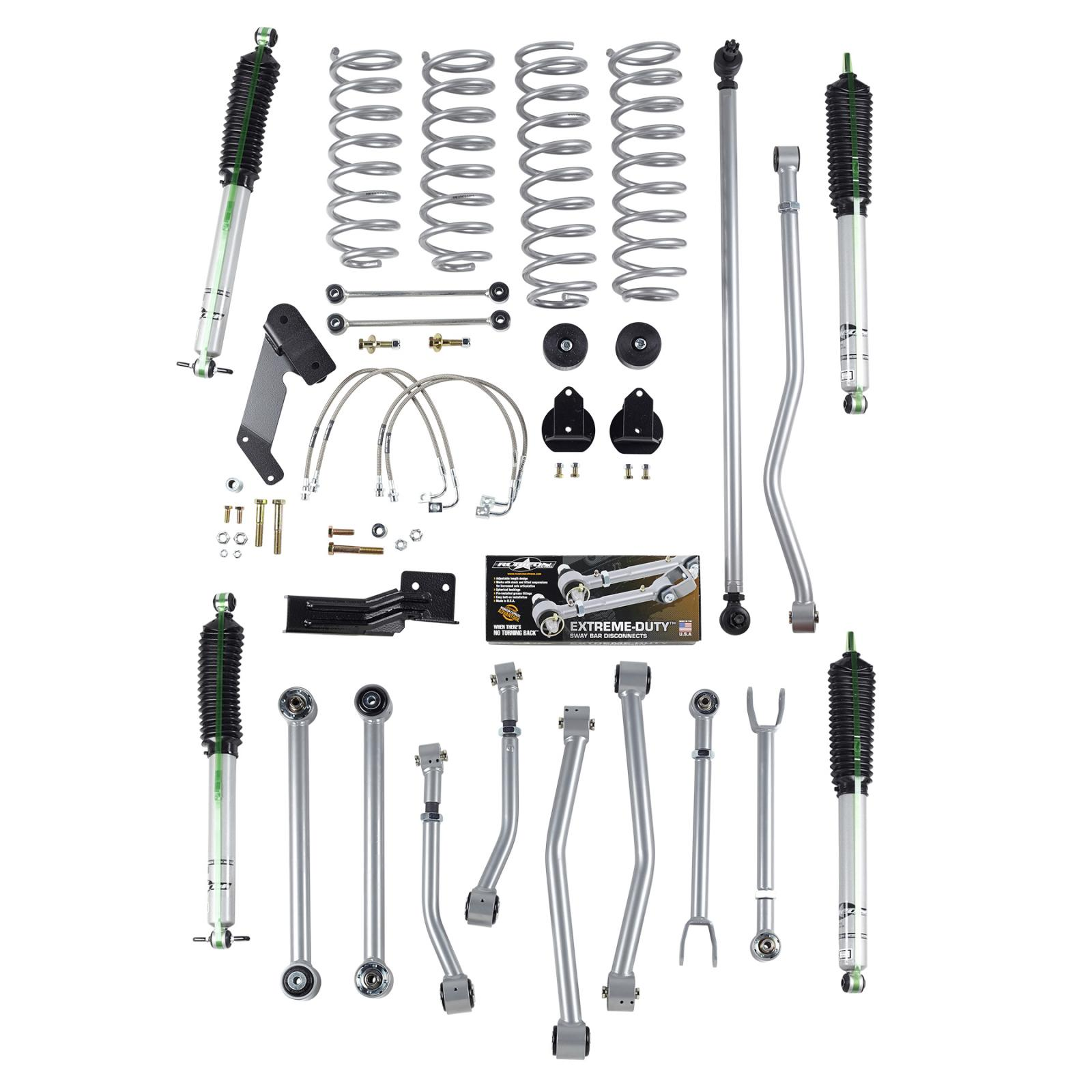 Rubicon Express 4 5 Inch Short Arm Lift Kit W Mono Tube