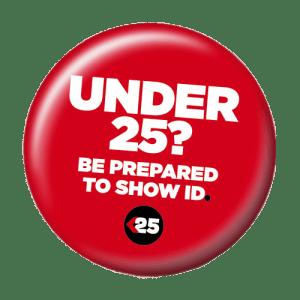 under-25-badge
