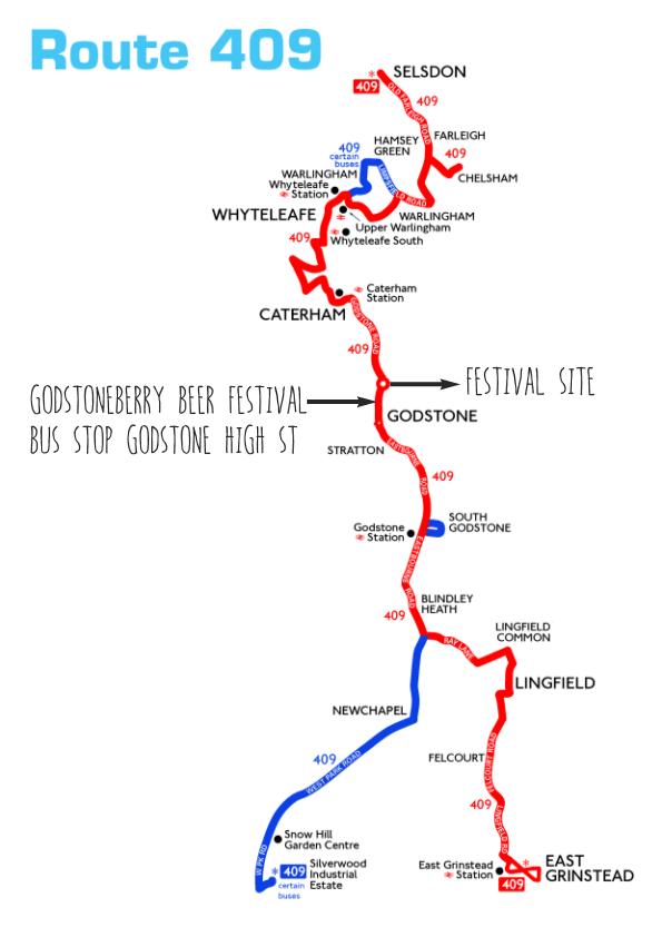 409 bus route 1