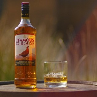 Famous Grouse Scotch Whiskey