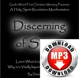 Discerning of Spirits mp3 Download