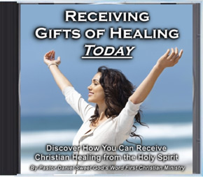 Receiving Gifts of Healing Audio CD